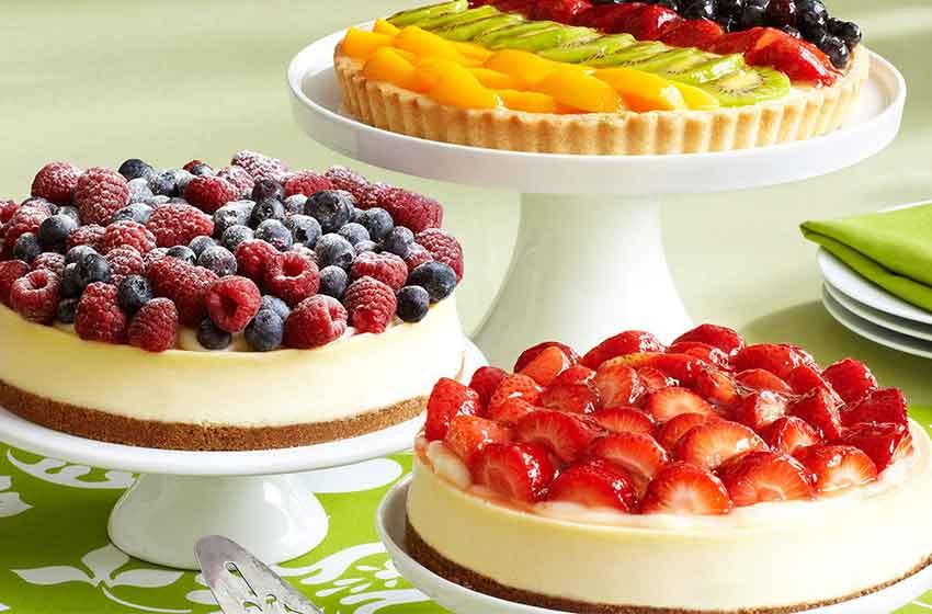 fruity cheesecake