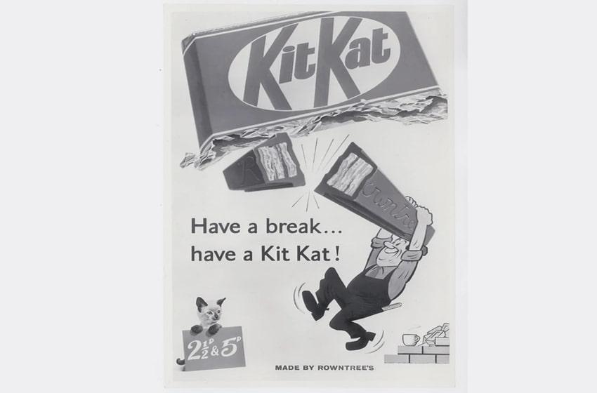 تاریخچه شکلات kit kat