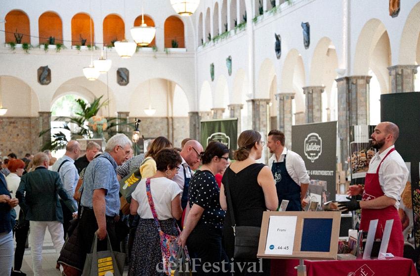 جشنواره بین المللی غذای خوب deli
