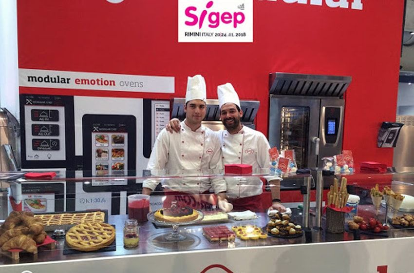 نمایشگاه بین المللی شیرینی  Sigep در ایتالیا