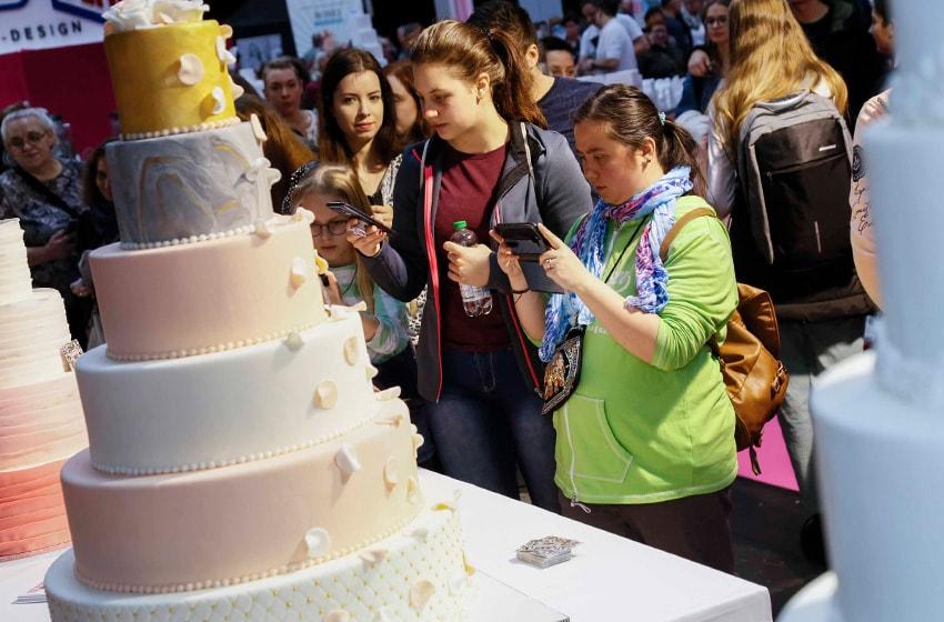 نمایشگاه تزئین کیک CAKE DREAMS