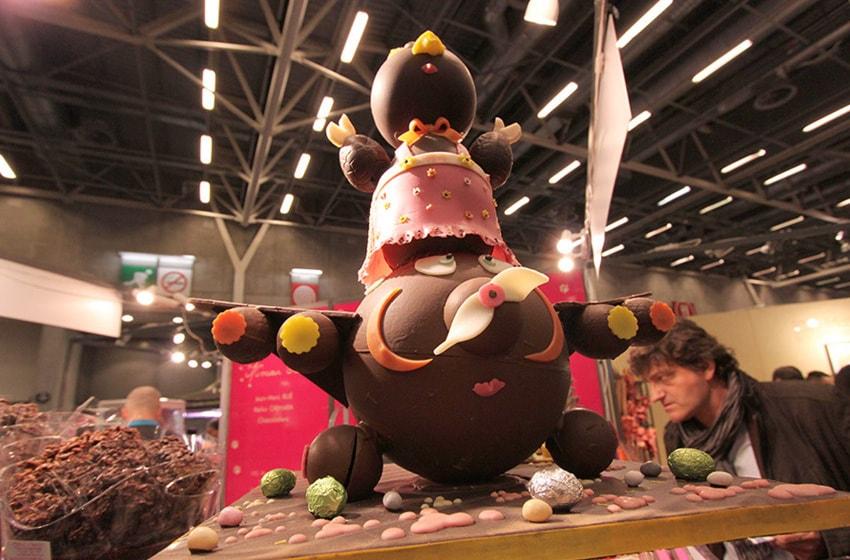 نمایشگاه شکلات Salon du Chocolat