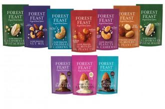 آجیل های شکلاتی جدید برند Forest Feast