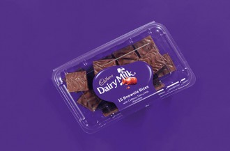 براونی شکلاتی جدید کدبری تولید شد