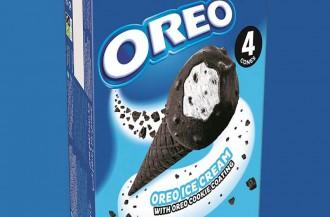 اوریو بستنی قیفی جدیدی تولید می کند.