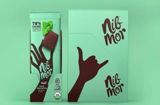 nib mor با یک لوگوی جدید بسته بندی های خود را مجدد طراحی کرد.