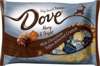 تافی شیر شکلاتی بادام جدید داو