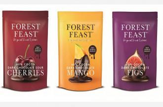 میان وعده میوه شکلاتی وگان فورست فیست