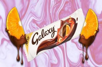 خلال شکلات طعم دار پرتغالی گلکسی به بازار عرضه شد.