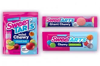 فررا محصولات Chewy SweeTARTS را دوباره راه اندازی می کند