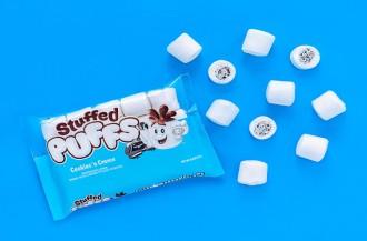 Stuffed Puffs مارشمالو پر عطر و طعم کوکی را به بازار عرضه می کند.
