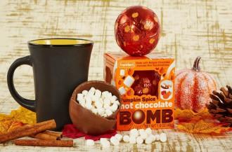 فرانکفورد کندی بمب شکلات داغ کدوتنبل را معرفی می کند