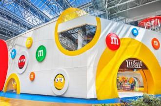 Mars Wrigley فروشگاه جدید M & M'S Mall of America را افتتاح کرد.