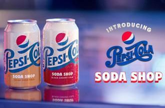 پپسی دو طعم جدید نوشابه خامه ای و نوشابه گیلاس را معرفی میکند.