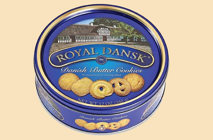 بیسکویت کره ای Royal Dansk