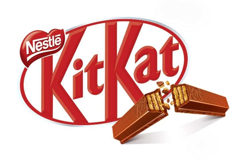 نشان های محصولات kit kat