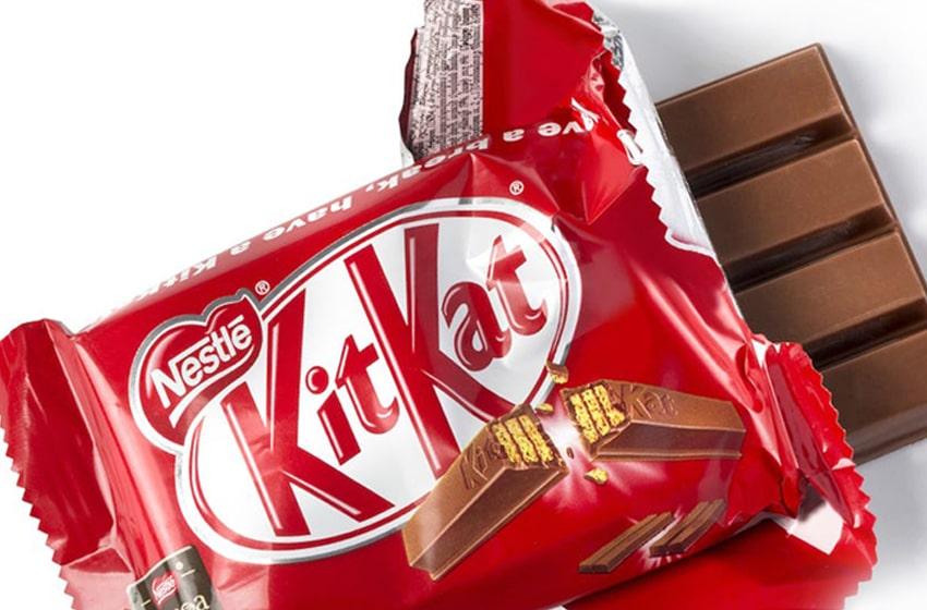 طراحی بسته های kitkat