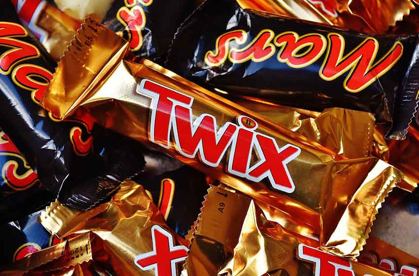 شکلات بار تویکس شرکت مارس