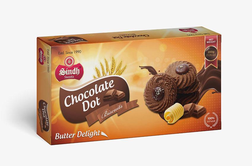 بیسکوئیت شکلاتی بیکرز