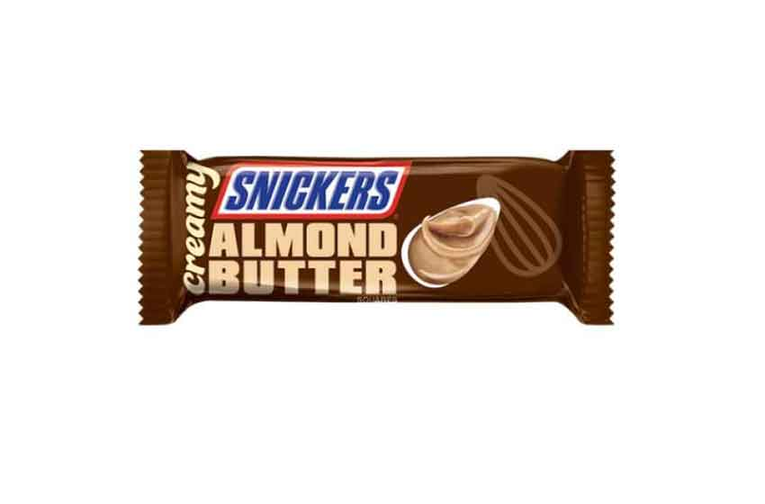almond butter snickers