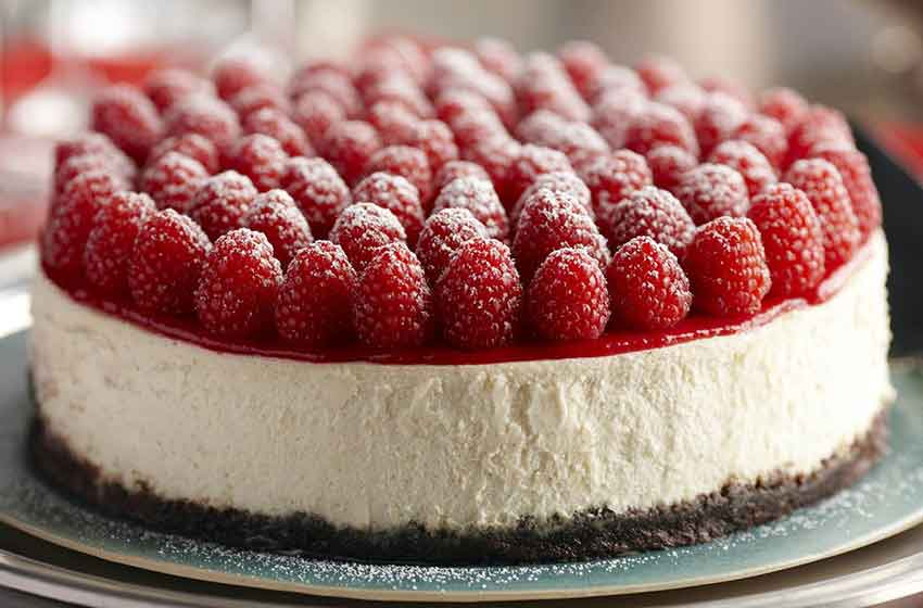 چیز کیک با شاتوت